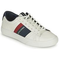 Παπούτσια Αγόρι Χαμηλά Sneakers Jack & Jones MISTRY Άσπρο