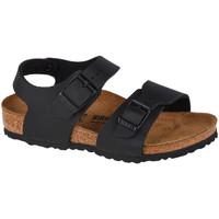 Παπούτσια Παιδί Σπορ σανδάλια Birkenstock New York BF Kids Noir