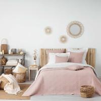 Σπίτι Κουβέρτες Douceur d intérieur FLORETTE Ροζ