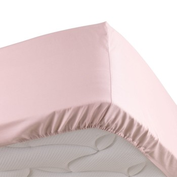 Σπίτι Σεντόνια με λάστιχο Douceur d intérieur PERCALINE Ροζ