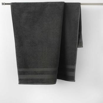 Σπίτι Πετσέτες και γάντια μπάνιου Douceur d intérieur EXCELLENCE Anthracite