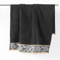 Σπίτι Πετσέτες και γάντια μπάνιου Douceur d intérieur ORBELLA Black