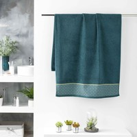 Σπίτι Πετσέτες και γάντια μπάνιου Douceur d intérieur BELINA Μπλέ