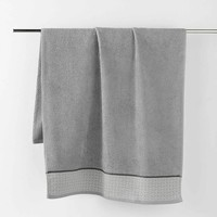 Σπίτι Πετσέτες και γάντια μπάνιου Douceur d intérieur BELINA Grey