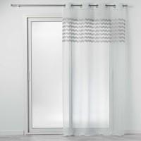 Σπίτι Κουρτίνες Douceur d intérieur SANDINA Άσπρο / Grey