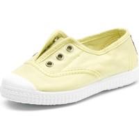 Παπούτσια Παιδί Tennis Cienta Chaussures en toiles  Tintado jaune pastel