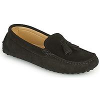 Παπούτσια Γυναίκα Μοκασσίνια Casual Attitude GATO Black