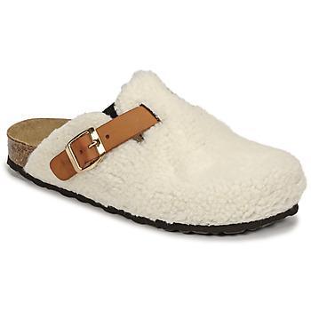 Παπούτσια Γυναίκα Παντόφλες Casual Attitude NEW Άσπρο