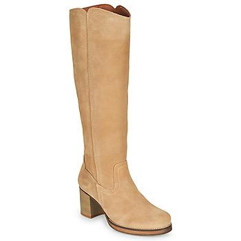 Παπούτσια Γυναίκα Μπότες για την πόλη Casual Attitude PASTILLE Beige