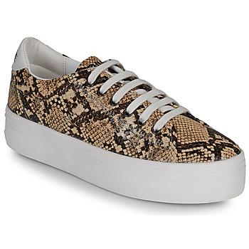 Παπούτσια Γυναίκα Χαμηλά Sneakers No Name PLATO M Brown