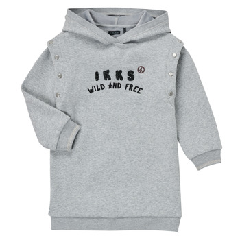 Υφασμάτινα Κορίτσι Κοντά Φορέματα Ikks NOISETTE Grey