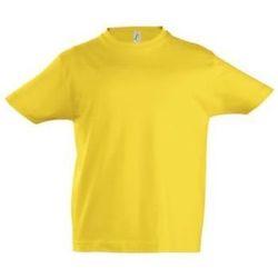Υφασμάτινα Παιδί T-shirt με κοντά μανίκια Sols Camista infantil color Amarillo Amarillo