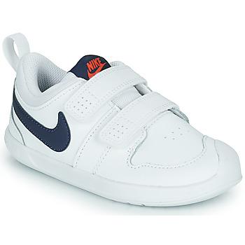 Xαμηλά Sneakers Nike NIKE PICO 5 (TDV) ΣΤΕΛΕΧΟΣ: Δέρμα και συνθετικό & ΕΠΕΝΔΥΣΗ: Ύφασμα & ΕΣ. ΣΟΛΑ: Ύφασμα & ΕΞ. ΣΟΛΑ: Καουτσούκ
