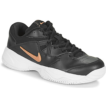 Παπούτσια Γυναίκα Χαμηλά Sneakers Nike WMNS NIKE COURT LITE 2 Black / Bronze