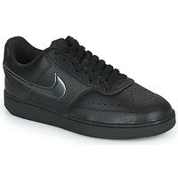 Παπούτσια Γυναίκα Χαμηλά Sneakers Nike WMNS NIKE COURT VISION LOW Black