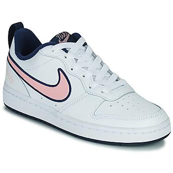 Παπούτσια Παιδί Χαμηλά Sneakers Nike COURT BOROUGH LOW 2 SE1 (GS) Άσπρο / Ροζ