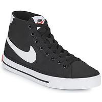 Παπούτσια Γυναίκα Χαμηλά Sneakers Nike W NIKE COURT LEGACY CNVS MID Black / Άσπρο