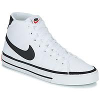 Παπούτσια Άνδρας Ψηλά Sneakers Nike NIKE COURT LEGACY CNVS MID Άσπρο / Black