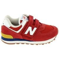 Παπούτσια Αγόρι Χαμηλά Sneakers New Balance PV574 C Rouge Red