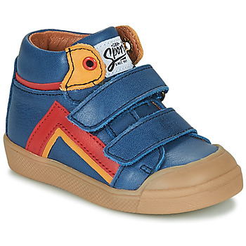 Παπούτσια Αγόρι Ψηλά Sneakers GBB ERNEST Μπλέ