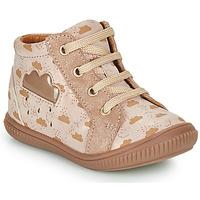 Παπούτσια Κορίτσι Ψηλά Sneakers GBB MASHA Beige