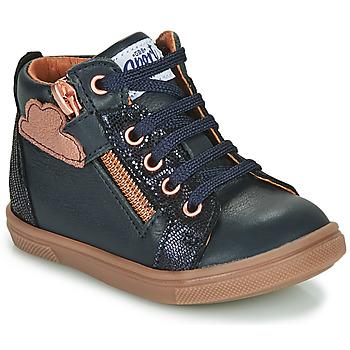 Παπούτσια Κορίτσι Ψηλά Sneakers GBB VALA Μπλέ