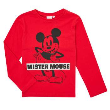 Υφασμάτινα Αγόρι Μπλουζάκια με μακριά μανίκια TEAM HEROES  TEE MICKEY Red