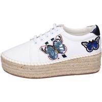 Παπούτσια Γυναίκα Εσπαντρίγια Greenhouse Polo Club BH109 λευκό