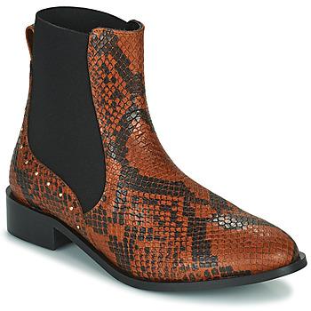 Παπούτσια Γυναίκα Μπότες JB Martin ANGE Brown