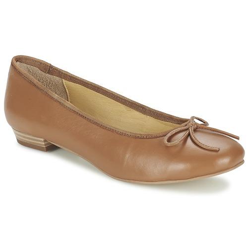 Παπούτσια Γυναίκα Μπαλαρίνες Balsamik ALVES largeur normale CAMEL