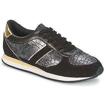Παπούτσια Γυναίκα Χαμηλά Sneakers Balsamik LILA Black / Gold