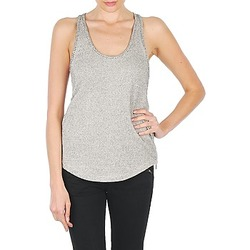 Υφασμάτινα Γυναίκα Αμάνικα / T-shirts χωρίς μανίκια Stella Forest YDE019 Ecru