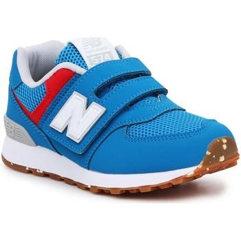 Παπούτσια Παιδί Χαμηλά Sneakers New Balance PV574BWV blue, red, white