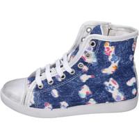 Παπούτσια Κορίτσι Ψηλά Sneakers Happiness BH132 Μπλε