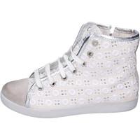 Παπούτσια Κορίτσι Ψηλά Sneakers Happiness BH133 λευκό