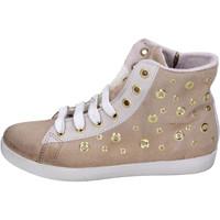 Παπούτσια Κορίτσι Ψηλά Sneakers Happiness BH134 Μπεζ