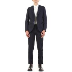 Υφασμάτινα Άνδρας Κοστούμια Mulish DNA-AB7211 Blu