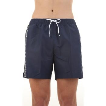 Υφασμάτινα Άνδρας Μαγιώ / shorts για την παραλία Calvin Klein Jeans KM0KM00558 Blu