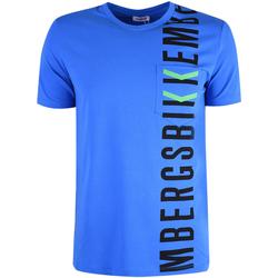 Υφασμάτινα Άνδρας T-shirt με κοντά μανίκια Bikkembergs  Μπλέ