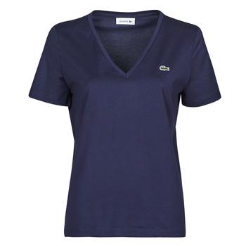 Υφασμάτινα Γυναίκα T-shirt με κοντά μανίκια Lacoste LOUIS Marine