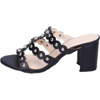 Παπούτσια Γυναίκα Τσόκαρα Silvian Heach BH155 Μαύρος