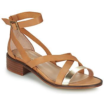Παπούτσια Γυναίκα Σανδάλια / Πέδιλα Casual Attitude COUTIL Camel / Dore
