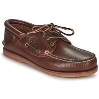 Παπούτσια Boat shoes Timberland Classic Boat 3 Eye Padded Collar Brown