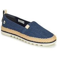 Παπούτσια Γυναίκα Εσπαντρίγια Timberland Barcelona Bay Classic Textile Μπλέ