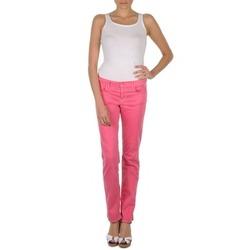 Υφασμάτινα Γυναίκα Παντελόνια Πεντάτσεπα Gant DANA SPRAY COLORED DENIM PANTS ροζ