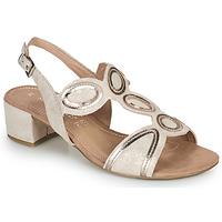 Παπούτσια Γυναίκα Σανδάλια / Πέδιλα Marco Tozzi ANTHINEA Ροζ