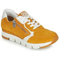 Παπούτσια Γυναίκα Χαμηλά Sneakers Marco Tozzi NERIANA Yellow