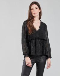Υφασμάτινα Γυναίκα Μπλούζες Moony Mood ABBENANT Black