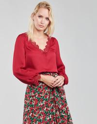 Υφασμάτινα Γυναίκα Μπλούζες Moony Mood ABITAIN Red