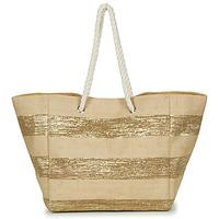 Τσάντες Γυναίκα Cabas / Sac shopping Betty London  Beige / Dore